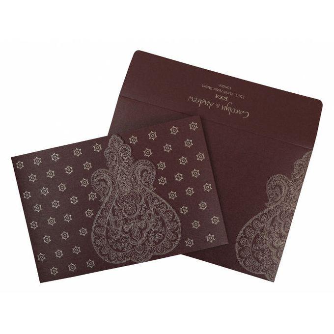 Wedding invitation design for Carolyn & Andrew wedding by 123WeddingCards - 009