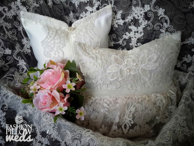 Traditional Indonesian Wedding pillow by Fashion Pillow Weds - 002