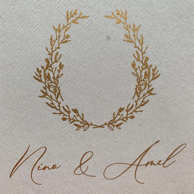 Intimate Wedding of Nino & Amel, feel so gorgeous with acrylic invitation by Putrajaya Invitation - 003