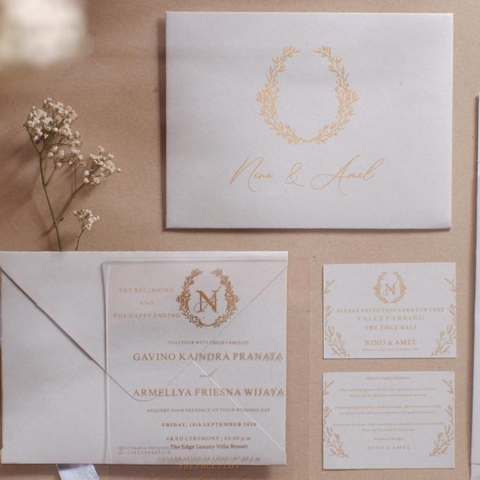 Intimate Wedding of Nino & Amel, feel so gorgeous with acrylic invitation by Putrajaya Invitation - 005