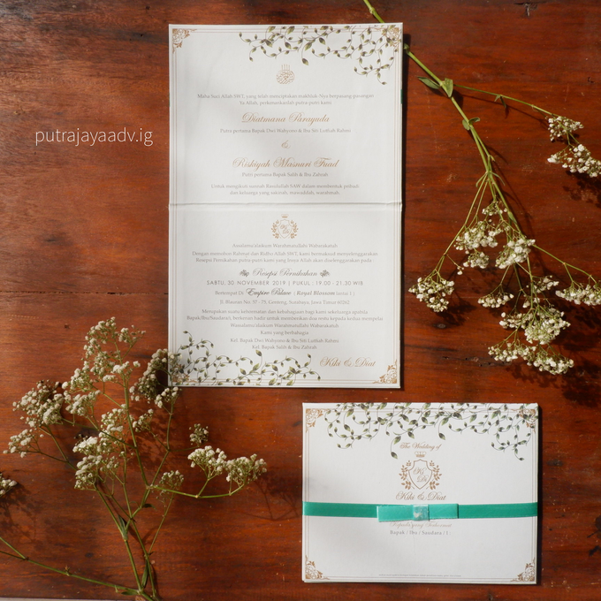 Wonderful way to spend a lifetime by Putrajaya Invitation - 003
