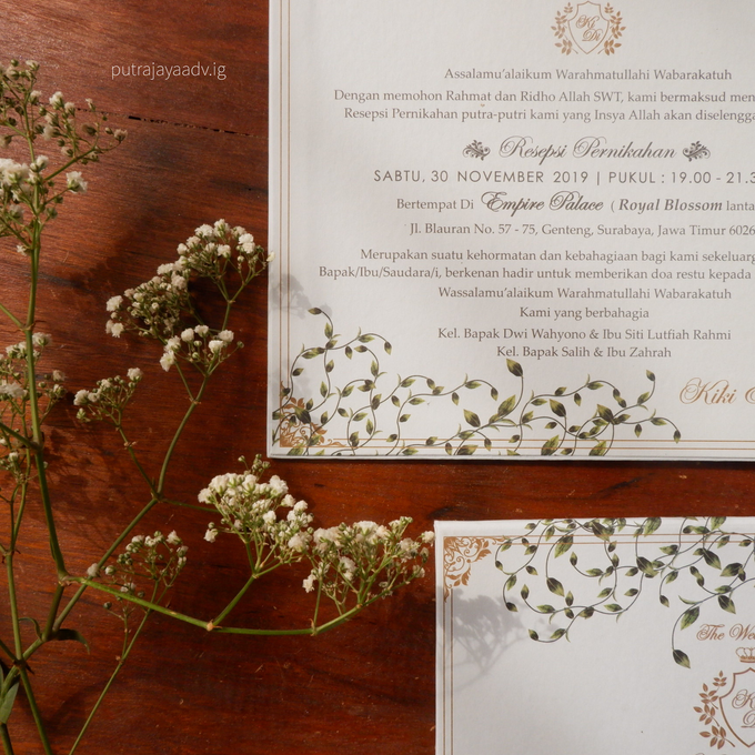 Wonderful way to spend a lifetime by Putrajaya Invitation - 001