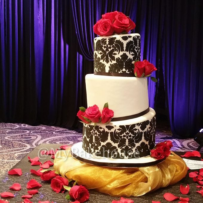 Wedding Cakes by My Bakehouse - 002