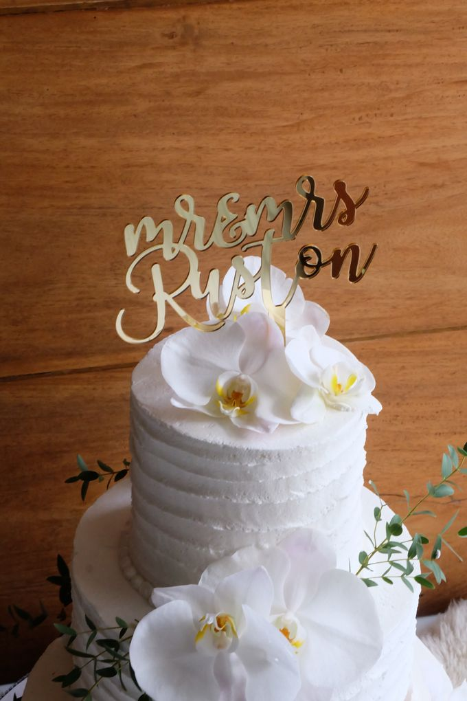 The Wedding of William & Grace by KAIA Cakes & Co. - 003