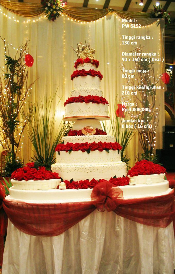 wedding cake by Pelangi Cake - 023