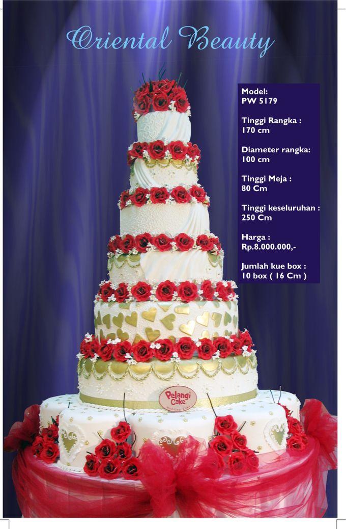 wedding cake 7 tiers by Pelangi Cake - 020