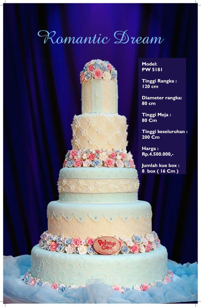 wedding cake by Pelangi Cake - 022