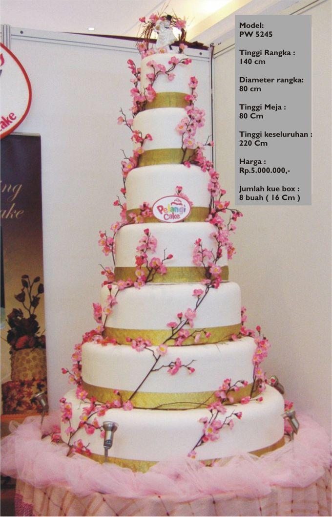 wedding cake 7 tiers by Pelangi Cake - 009