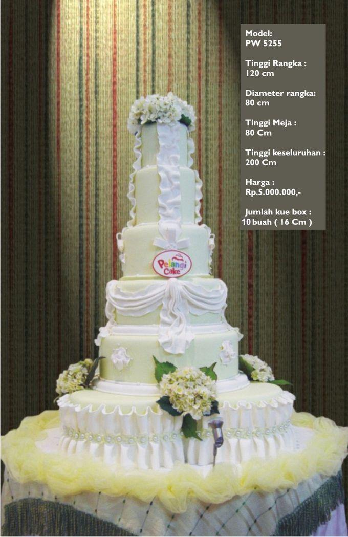wedding cake 7 tiers by Pelangi Cake - 010