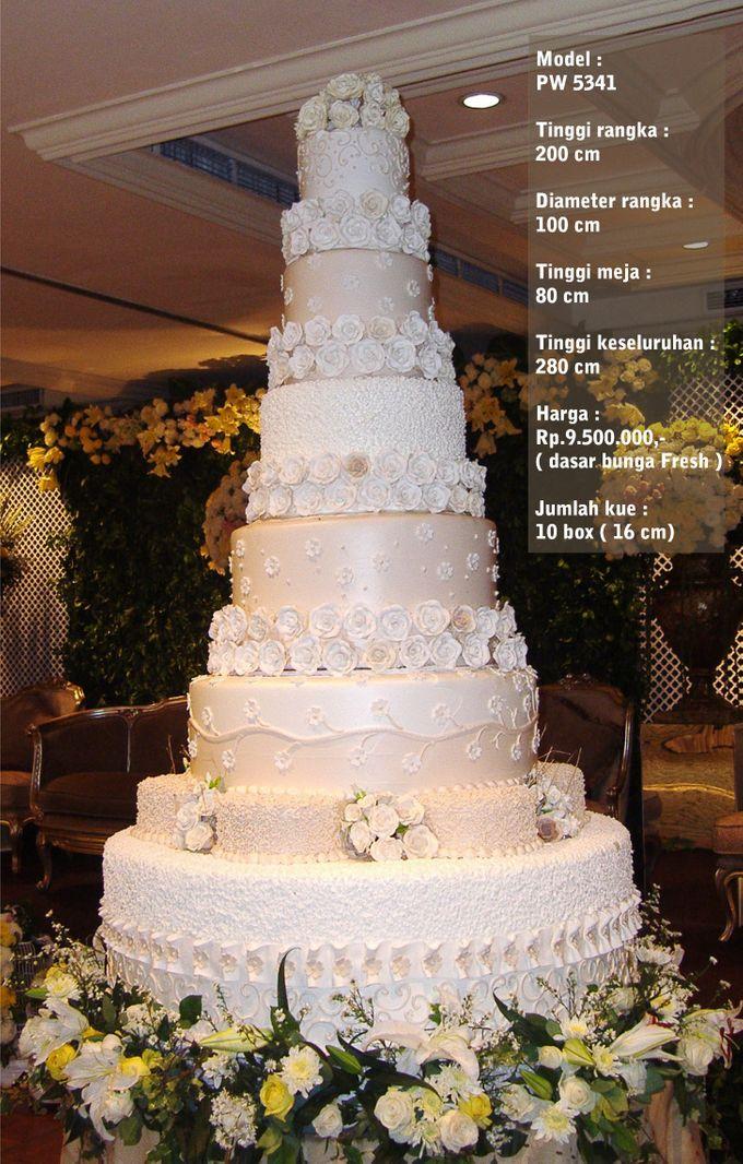 wedding cake 7 tiers by Pelangi Cake - 018