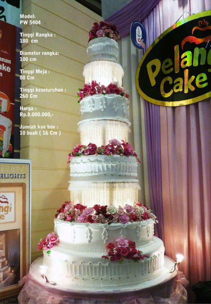 wedding cake 7 tiers by Pelangi Cake - 021