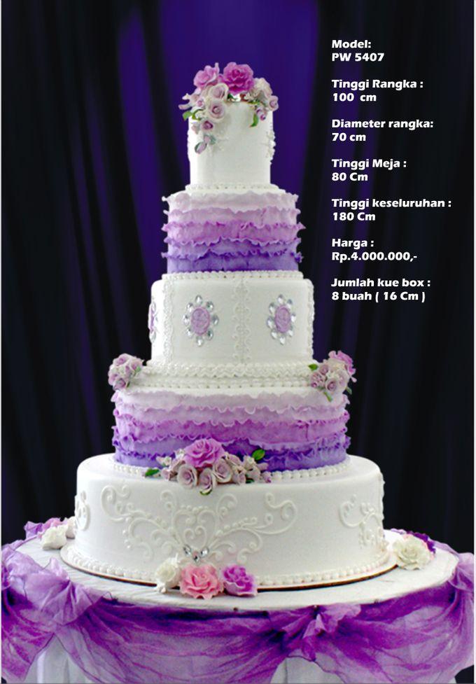 wedding cake by Pelangi Cake - 021