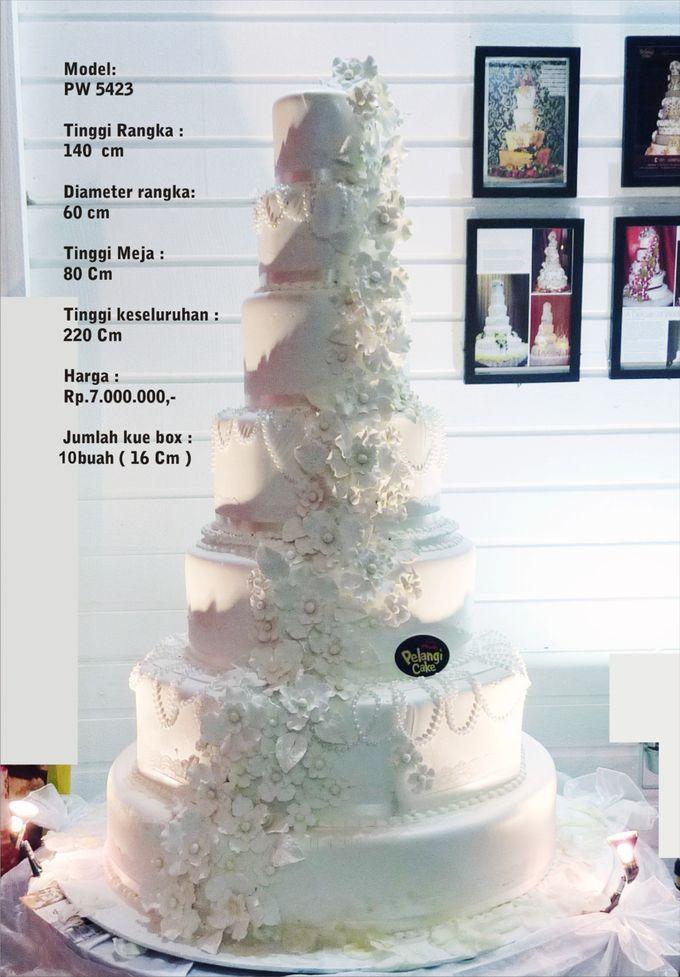 wedding cake 7 tiers by Pelangi Cake - 024