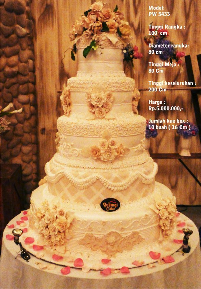 Wedding cake 5 Tiers by Pelangi Cake | Bridestory.com