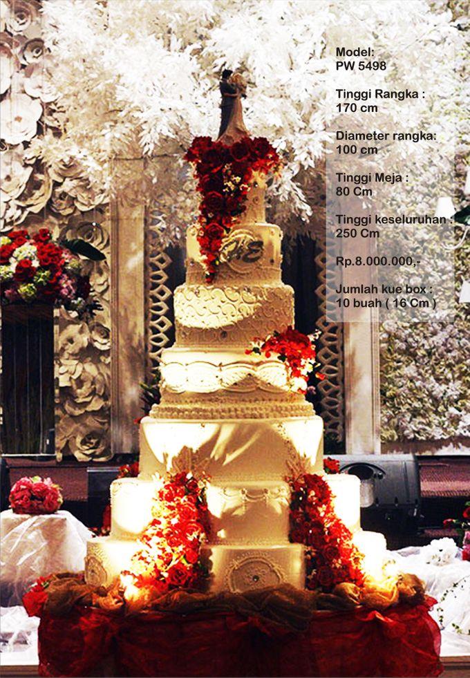wedding cake 7 tiers by Pelangi Cake - 025