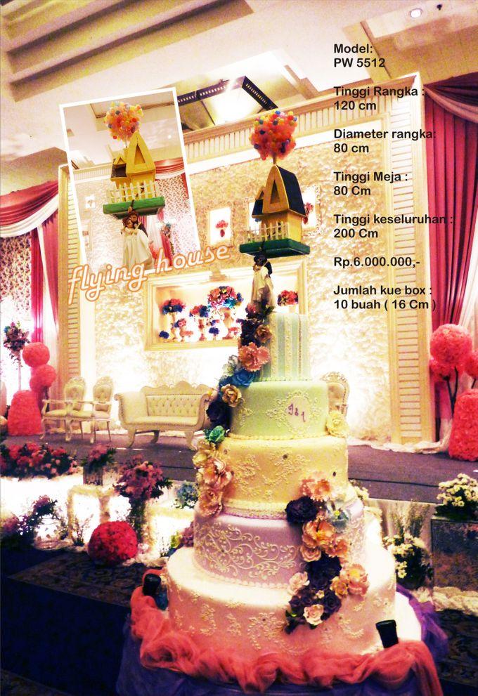 wedding cake 7 tiers by Pelangi Cake - 022