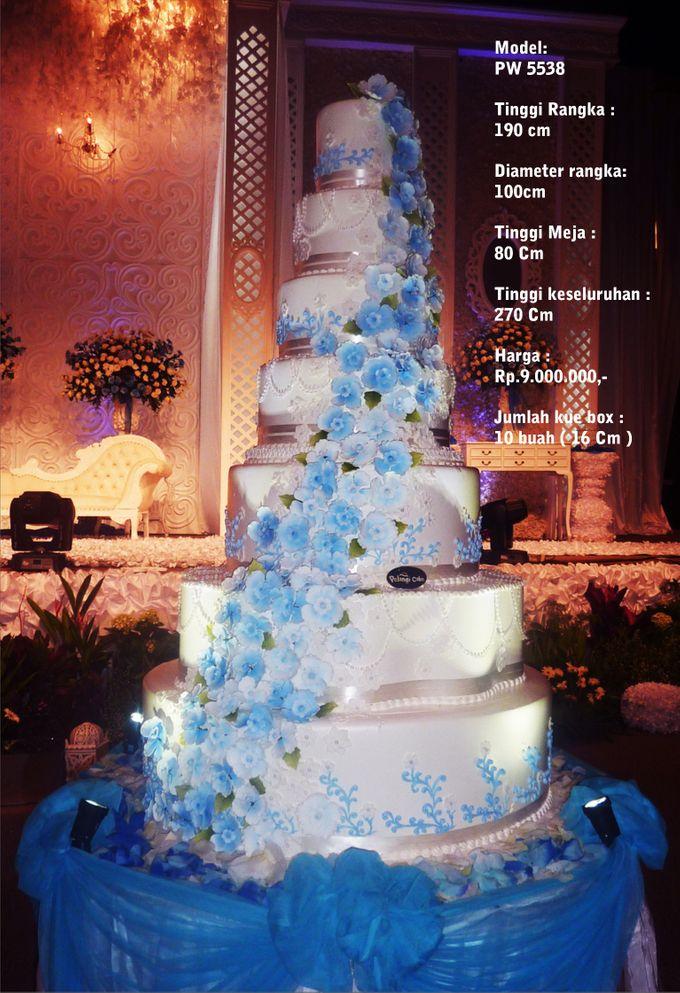 wedding cake 7 tiers by Pelangi Cake - 027