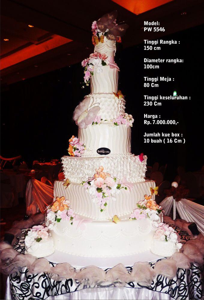 wedding cake 7 tiers by Pelangi Cake - 011