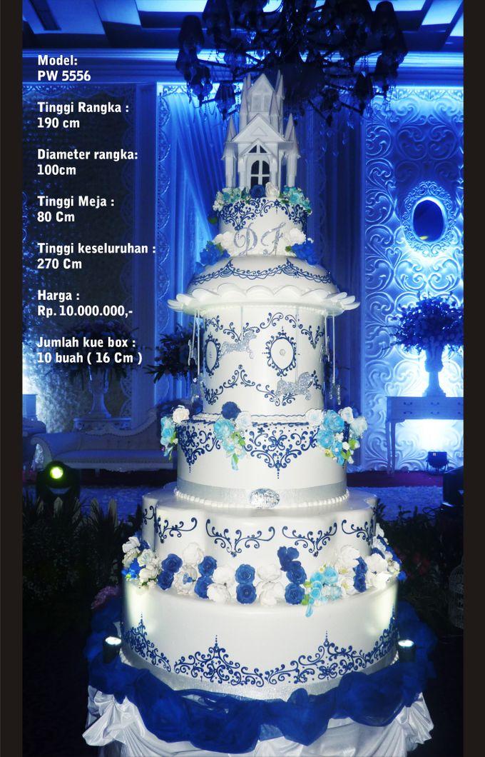 wedding cake 7 tiers by Pelangi Cake - 007