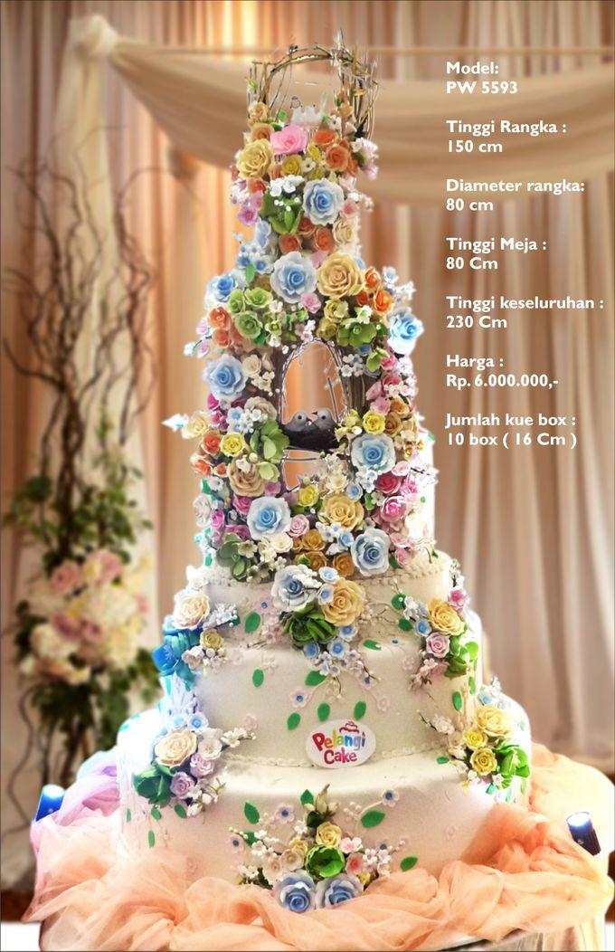 wedding cake 7 tiers by Pelangi Cake - 026