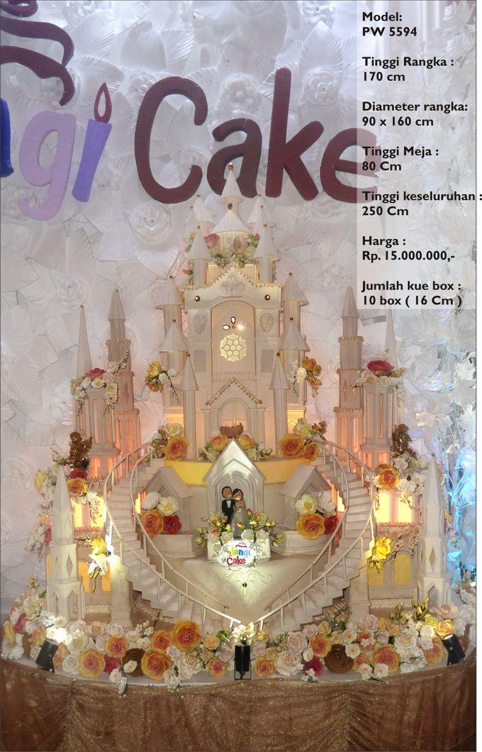 wedding cake 7 tiers by Pelangi Cake - 028