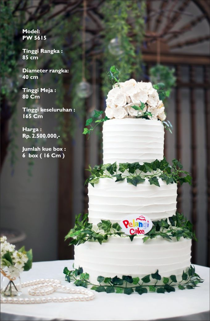 new model by Pelangi Cake - 002