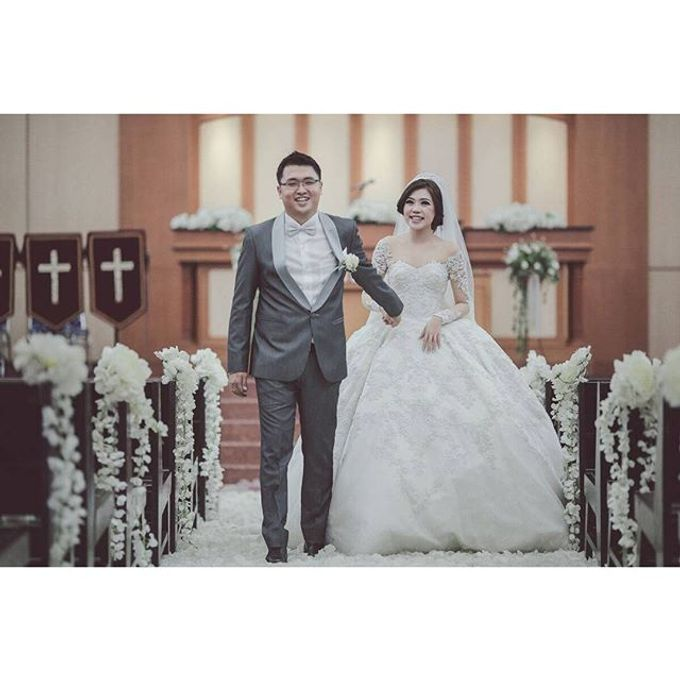 The Wedding of Galan & Widya by All Occasions Wedding Planner - 008