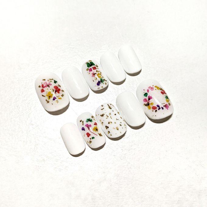 Wedding Nails by PONINONI NAILS - 007