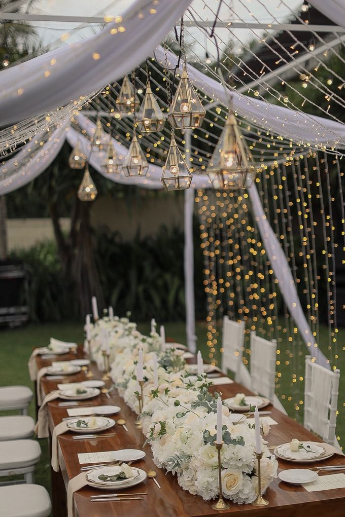 Intimate Wedding Dinner At Sadara Hotel by Bali Becik Wedding - 009