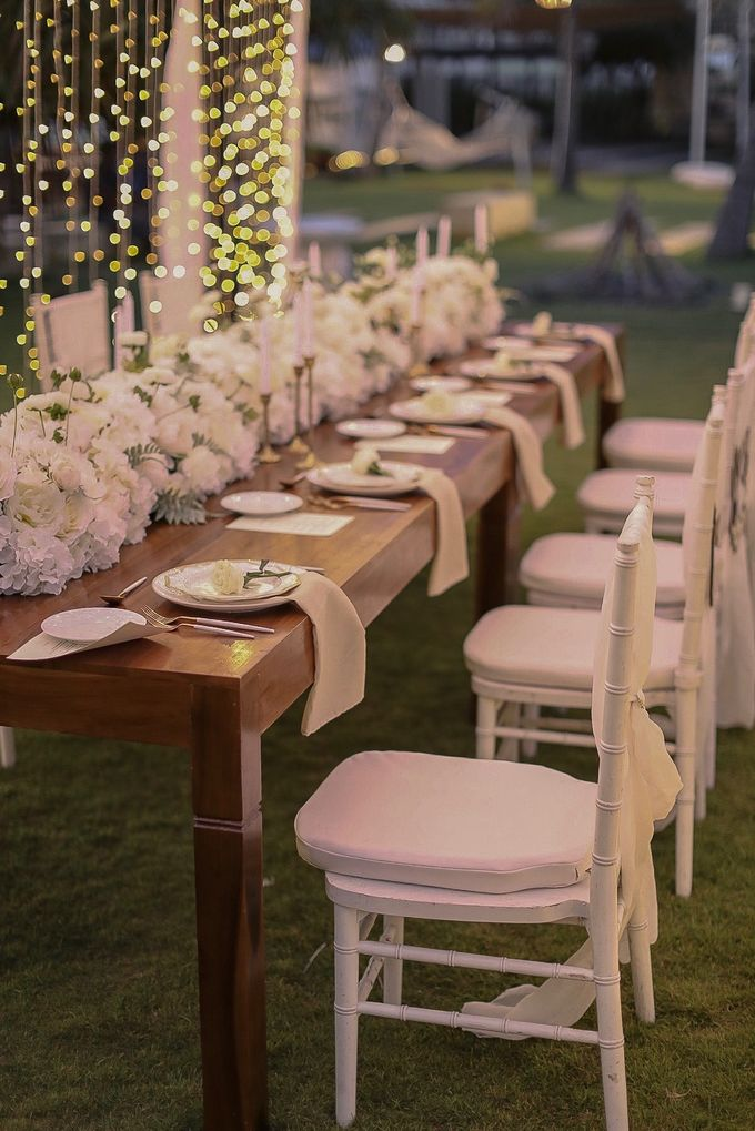 Intimate Wedding Dinner At Sadara Hotel by Bali Becik Wedding - 006