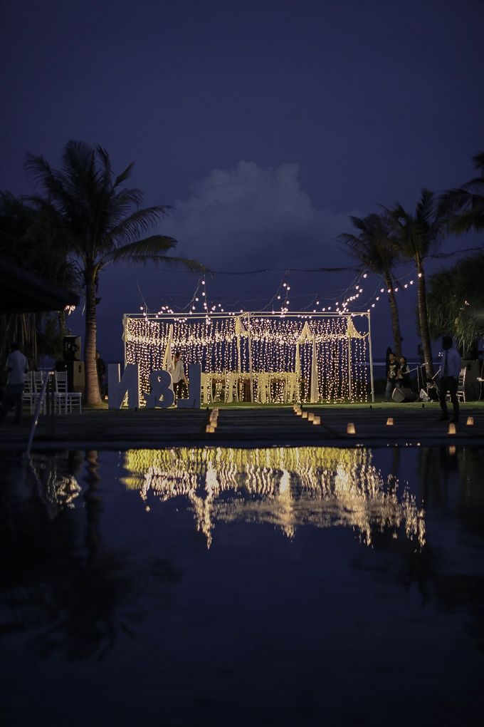 Intimate Wedding Dinner At Sadara Hotel by Bali Becik Wedding - 003