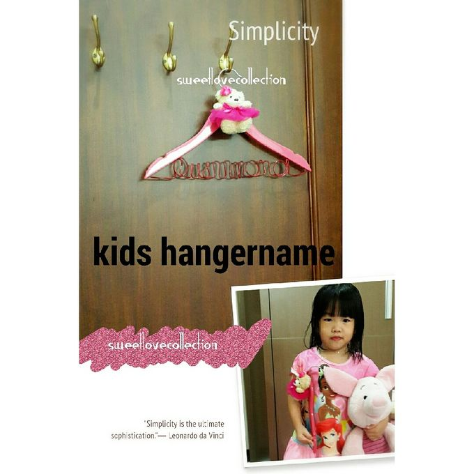 Wedding Hanger Name by Sweetlovecollection - 040