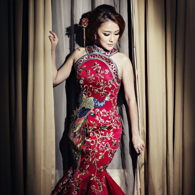 Cheongsam Embroidery - GV HERITAGE by GV by Gabriella Vania - 007