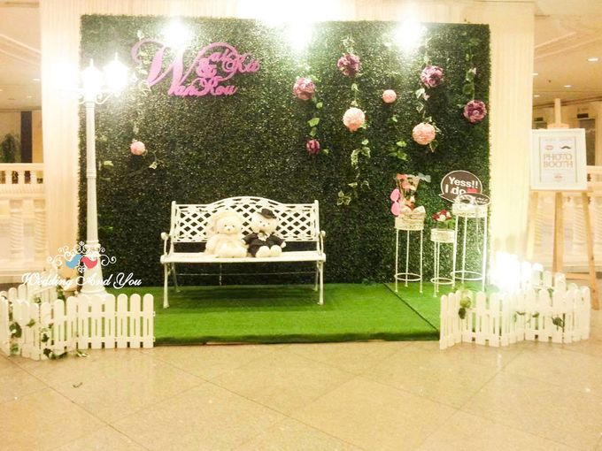 Photo Booth Design by Wedding And You | Bridestory com