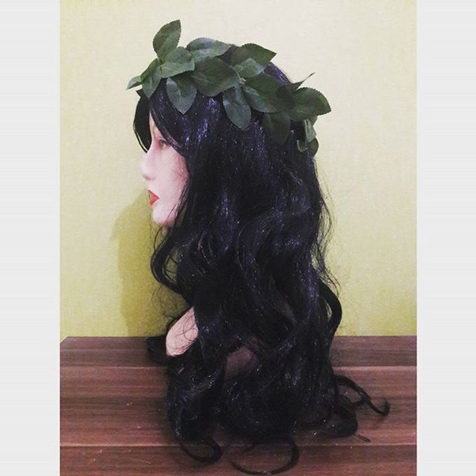 Flower Crown / Bando Bunga / Mahkota Bunga by Estrella Flower Crown - 015