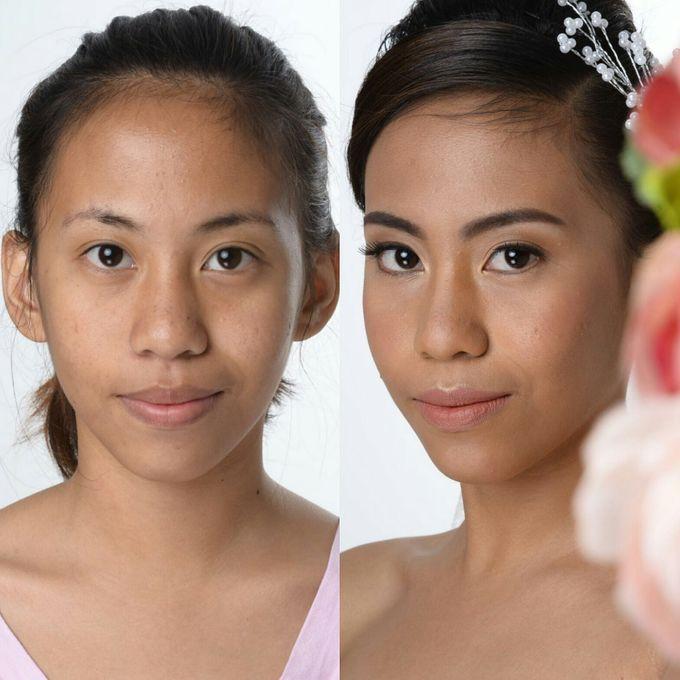 BRIDAL MAKEUP by Makeup By Karen M. Enriquez - 003