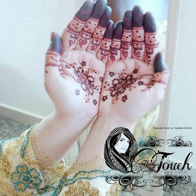 Henna Artwork Designing by Theiya Goddess Touch - 006