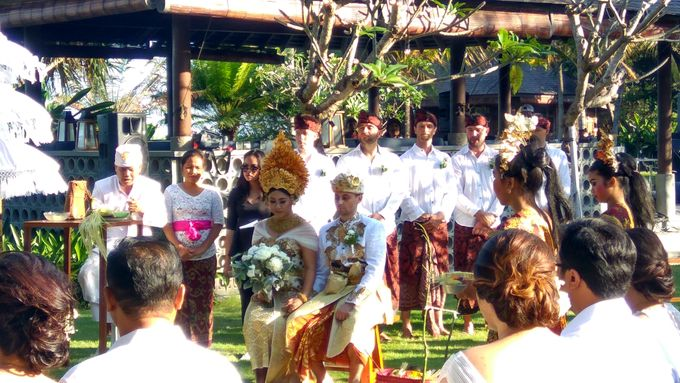 "Balinese Wedding ""Kartika & Sam by Jeeva Resorts - 002"