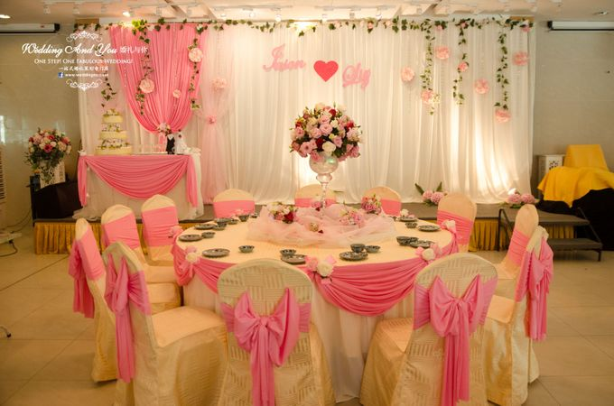 Stage Backdrop Design by Wedding And You - 006