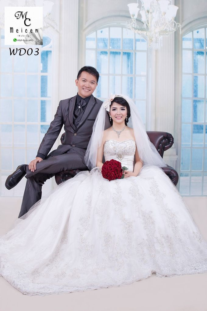Gaun Disewakan by Meicen Professional Makeup Artist - 001