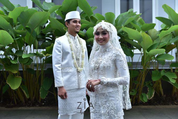 Ika & Iqbal Wedding by Zia Brides Make Up Artist & Kebaya - 005