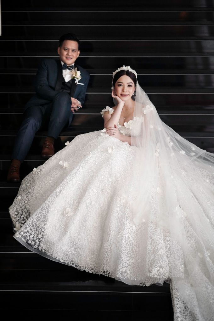 Adit & Claresta Wedding at Hilton by PRIDE Organizer - 020