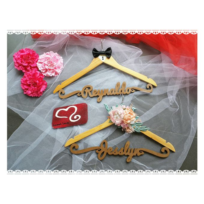 Wedding Hanger Name by Sweetlovecollection - 021