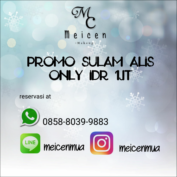Promo Sulam Alis by Meicen Professional Makeup Artist - 001