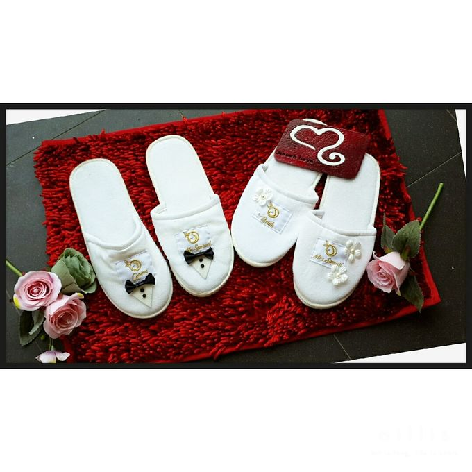 Wedding Slippers by Sweetlovecollection - 012