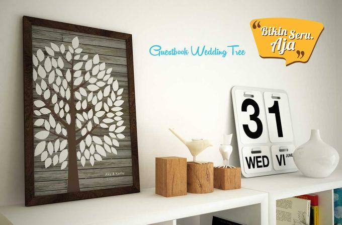 Canvas Guestbook Wedding Artwork (Tree-02) by Bikinseru.aja - 005