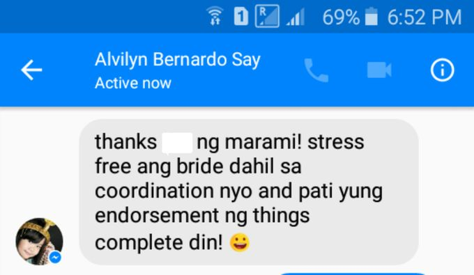 Our Clients and Feedback by Jaymie Ann Events Planning and Coordination - 017