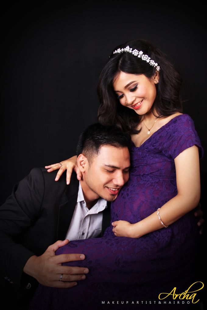 Maternity Photoshoot by Archa makeup artist - 005