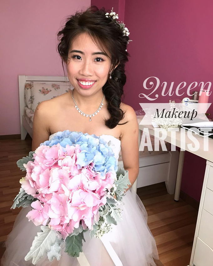 Bride's photos taken by my phone by Queen Makeup Artist - 001