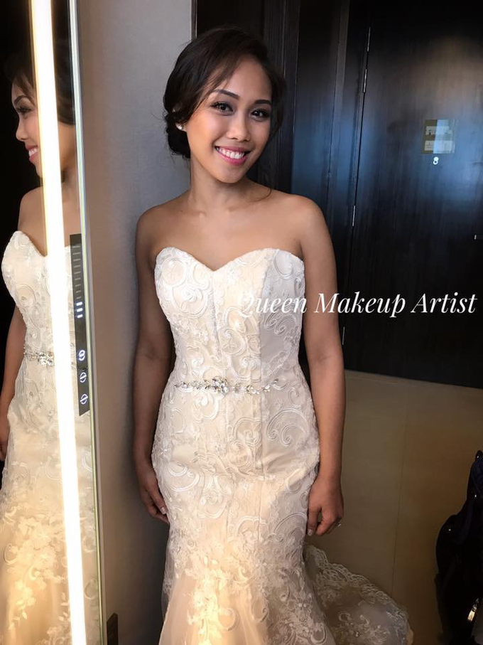 Bride's photos taken by my phone by Queen Makeup Artist - 002